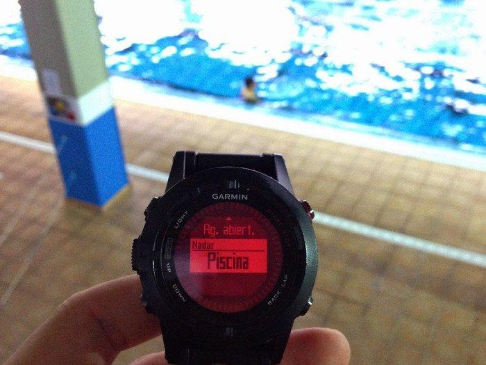 Fenix 2 en piscina