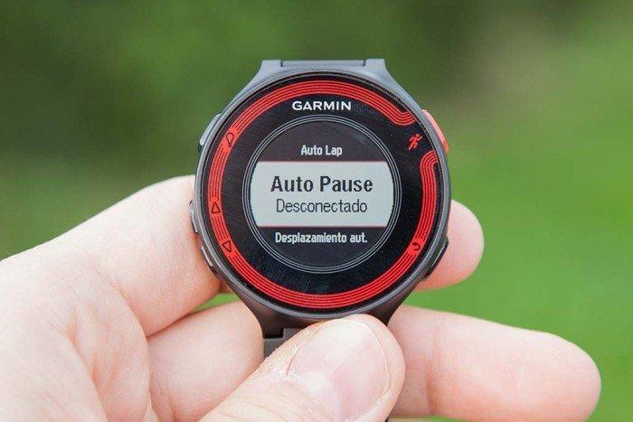 Auto Pause Garmin FR220