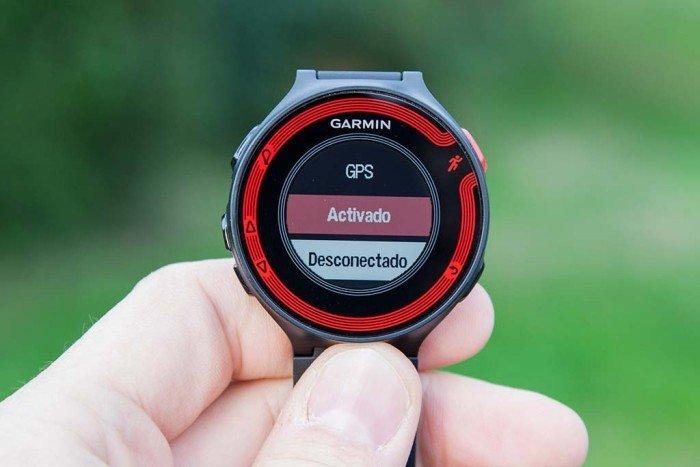 GPS activado FR220
