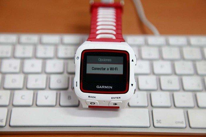 Garmin 920xt - Conectar a WiFi
