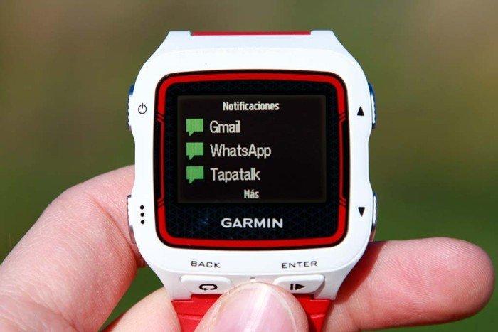 Garmin Forerunner 920xt - Notificaciones