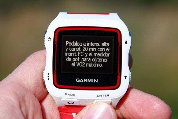 Garmin Forerunner 920xt - VO2max ciclismo