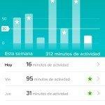 Fitbit Charge HR - Información aplicación