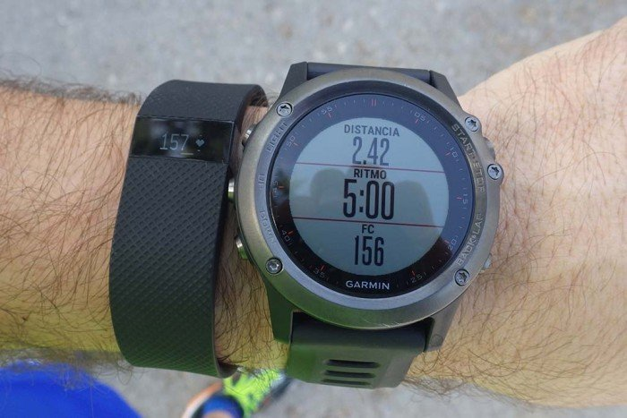 Fitbit Charge HR - Comparativa de pulso