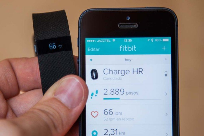Fitbit Charge HR - Pulso actual