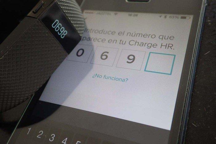 Fitbit Charge - Sincronización teléfono