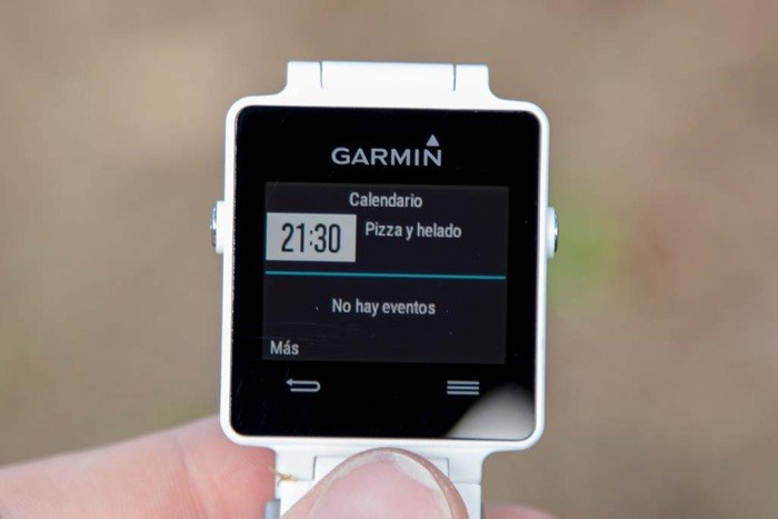 Garmin Vivoactive - Widget de calendario