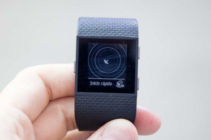 Fitbit Surge - Búsqueda de satélites
