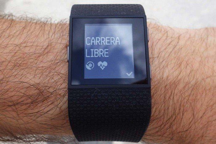 Fitbit Surge - Carrera libre