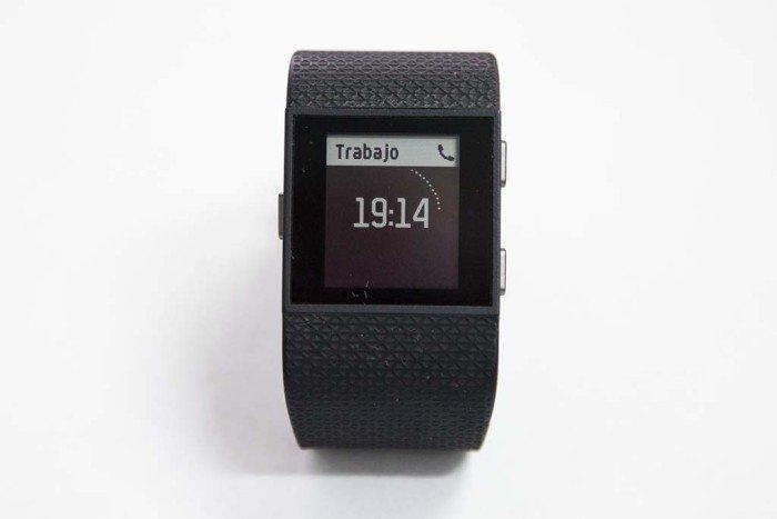 Fitbit Surge - Notificación llamada