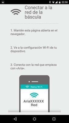 Configuración Fitbit Aria