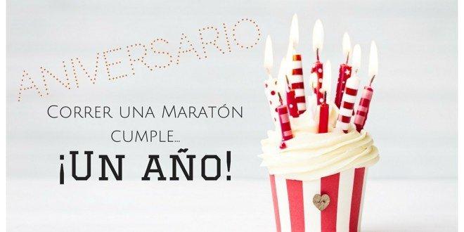 Aniversario Correr una Maratón