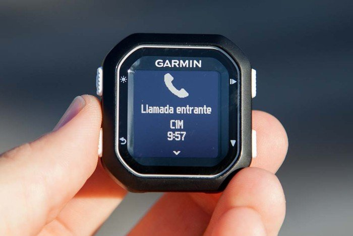 Garmin Edge 25 - Notificación de llamada