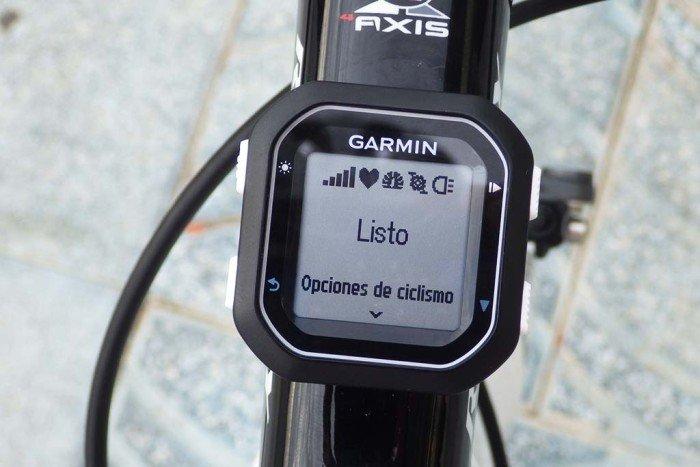 Garmin Edge 25 - Sensores conectados