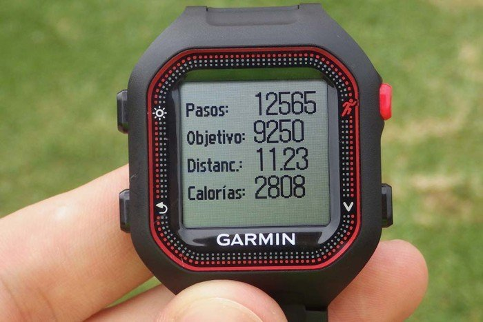 Garmin FR25 - Actividad de un día