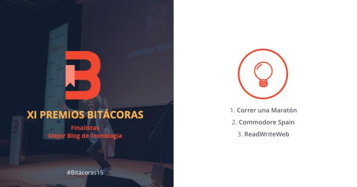 Finalistas Premios Bitácoras