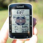 Garmin Edge 520 - Configuración pantallas de datos