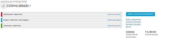 Garmin Edge 520 - Entrenamiento avanzado 1