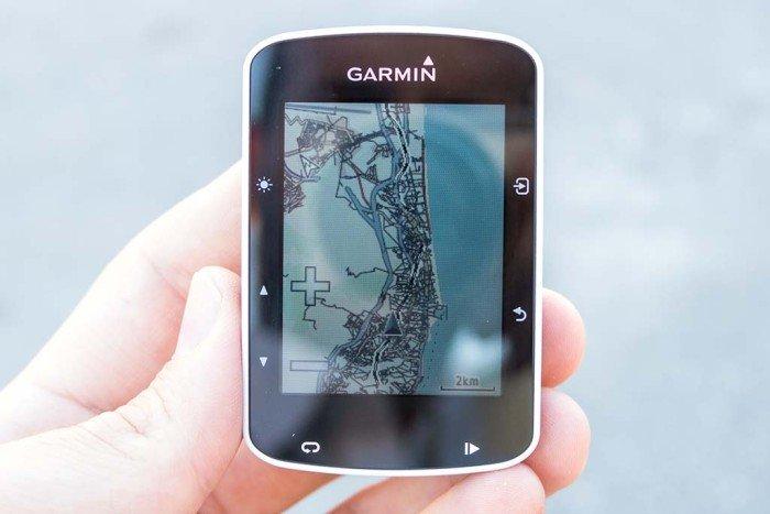 Garmin Edge 520 - Mapa completo