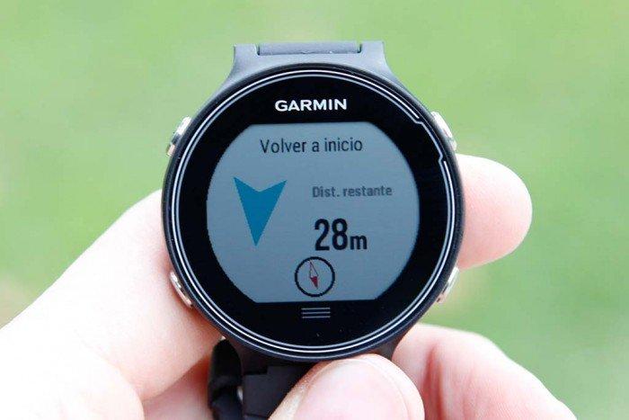 Garmin Forerunner 630 - Vuelta a inicio