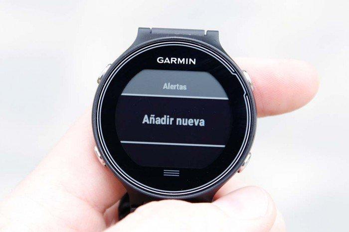 Garmin Forerunner 630 - Configurar alertas