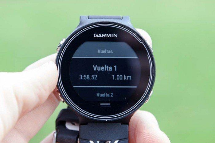 Garmin Forerunner 630 - Vuelta individual