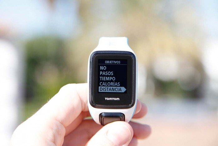 TomTom Runner 2 - Monitor de actividad, configurar objetivos