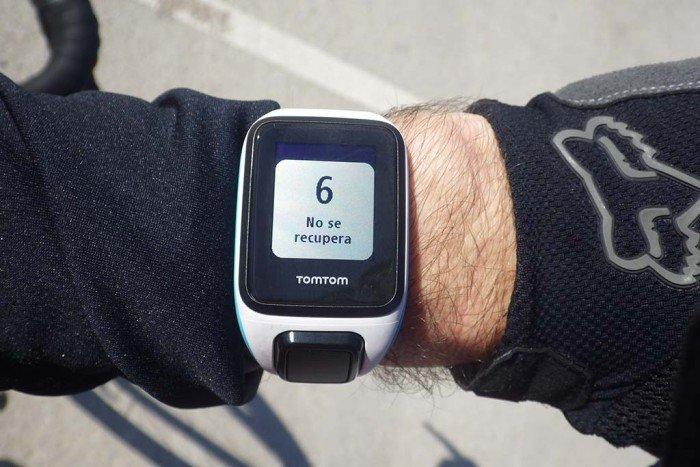 TomTom Runner 2 - Recuperación tras ejercicio