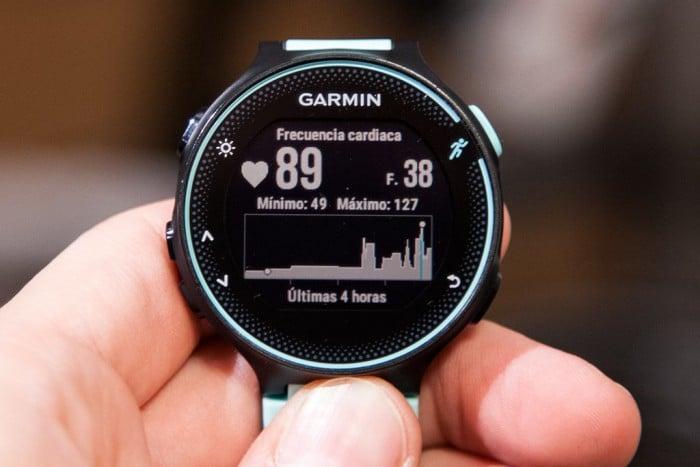 Garmin Forerunner 235 - Widget Frecuencia cardíaca