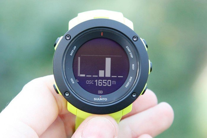 Suunto Ambit3 Vertical - Widget altitud
