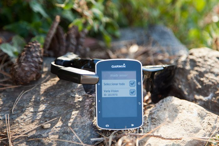Garmin Varia Vision - Añadir dispositivo