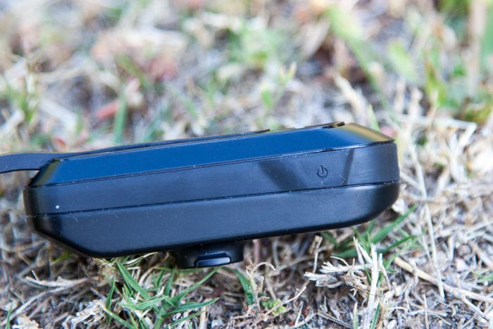 Garmin Varia Vision - Botón de encendido