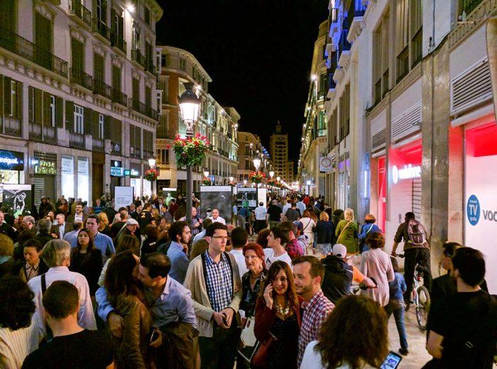 Noche en Blanco Málaga 2016