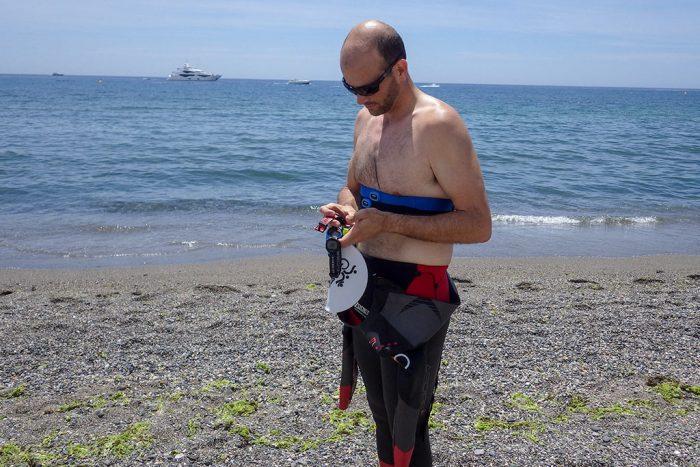 Garmin HRM Tri HRM Swim - Preparando relojes