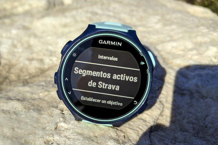 Garmin 735XT - Segmentos Strava