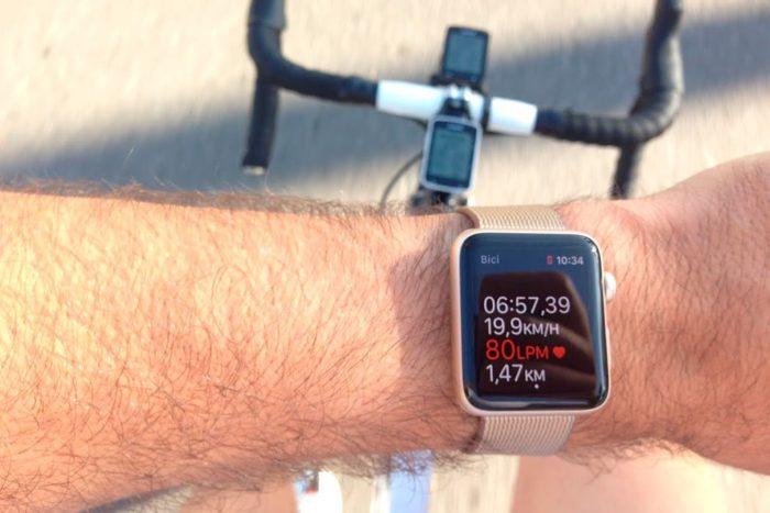 Apple Watch Series 2 - Bici giro muñeca