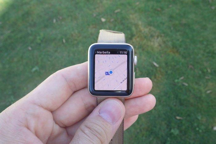 Apple Watch S2 - Mapas