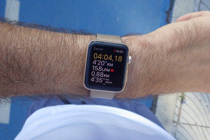 Apple Watch S2 - Múltiples datos en pantalla