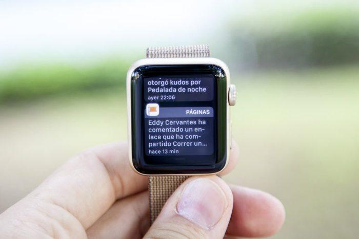Apple Watch Series 2 - Notificaciones