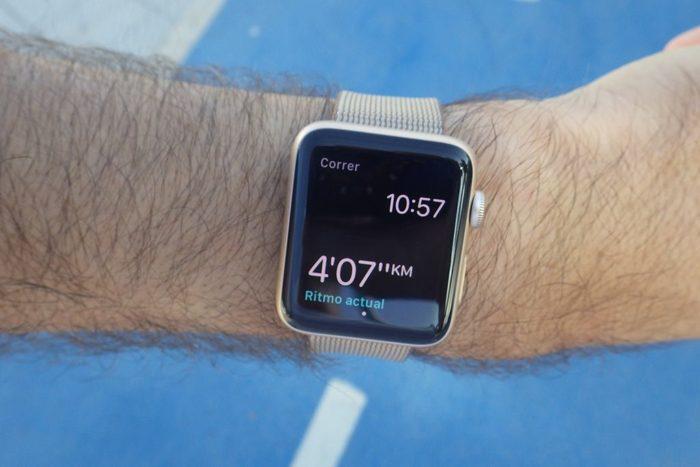 Apple Watch S2 - Un sólo dato en pantalla