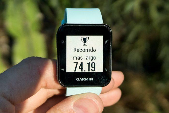Garmin Forerunner 35 - Record ciclismo