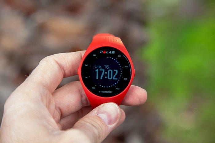 Polar M200 - Actividad en reloj