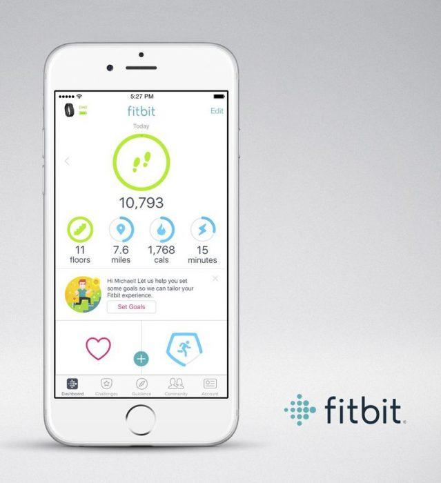 Objetivos personales Fitbit