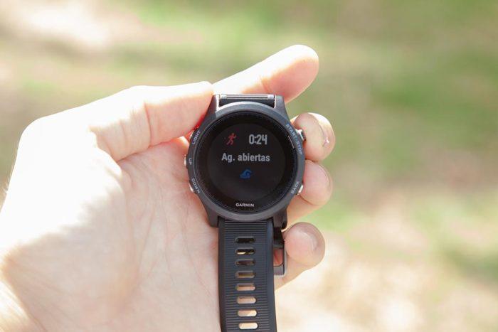 Garmin FR935 - Cambio de actividad