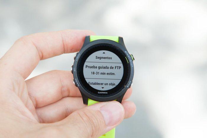 Garmin Forerunner 935 - Prueba FTP