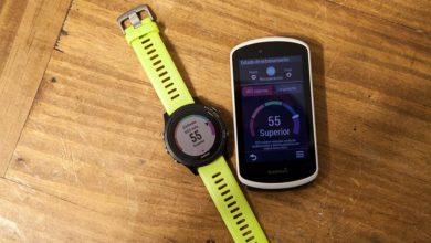 Foto de Garmin Physio TrueUp. Sincronización de métricas y actividades entre distintos dispositivos.