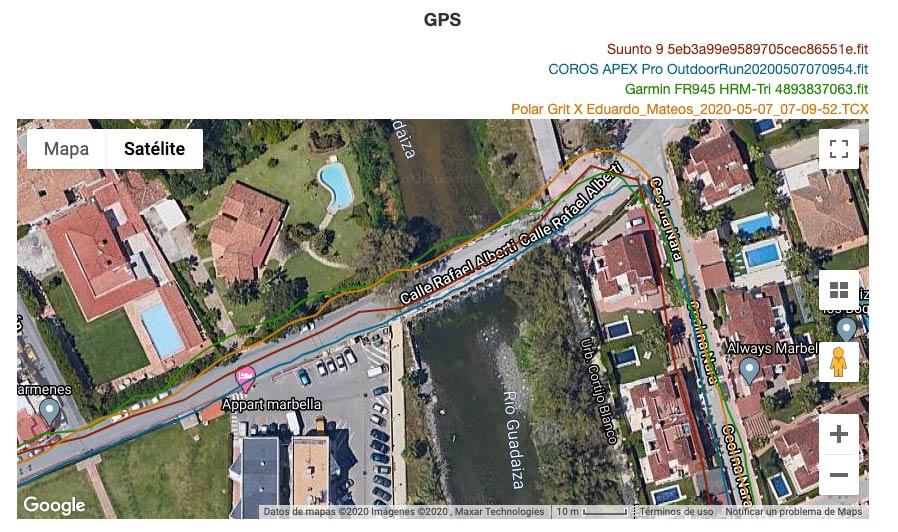 Comparativa GPS Suunto 9 y Polar Grit X