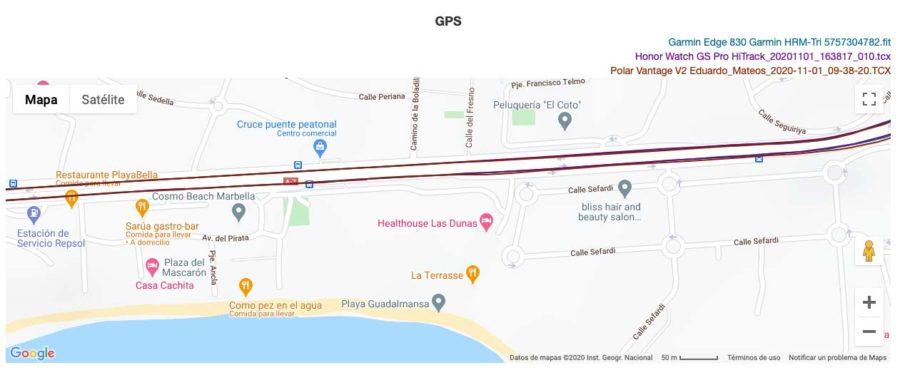 Honor Watch GS Pro - GPS
