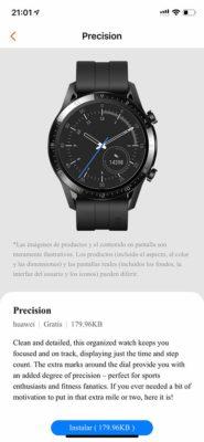 Honor Watch GS Pro - Esferas