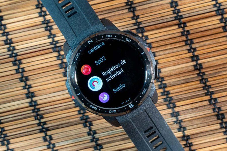 Honor Watch GS Pro - Registros de actividad